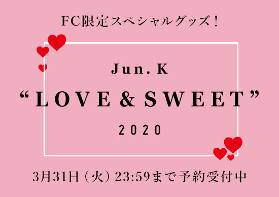 "Jun. K ""LOVE & SWEET"" 2020"