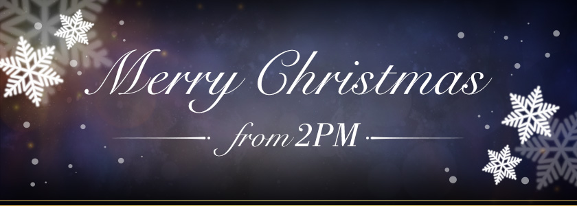 Merry Christmas from 2PM 2018